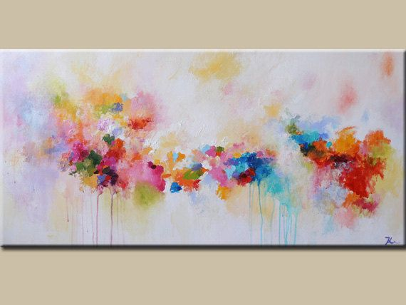 pintura pintura sobre lienzo pintura abstracta por artbyoak1