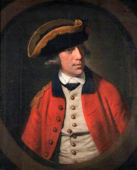 Captain Matthew Pepper Manby Royal Welch Fusiliers. circa 1768