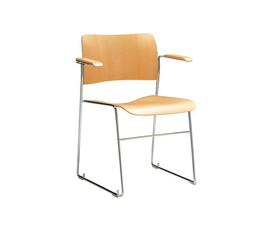 40/4 armchair by HOWE | Visitors chairs / Side chairs