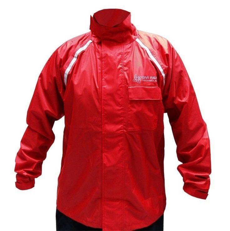 Capa de Chuva Givi PVC RR02R Vermelho