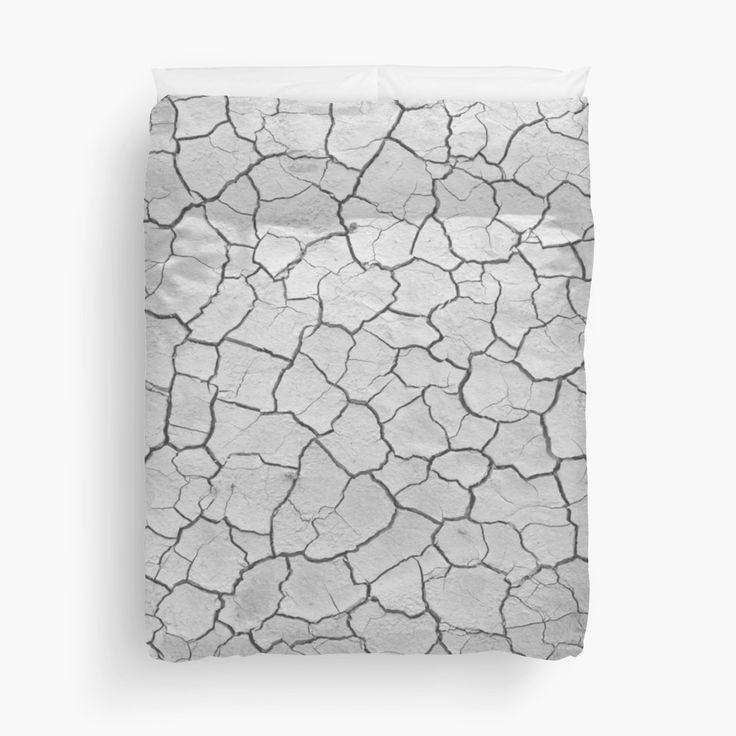 This is something very different, a cracked clay designed duvet cover, would look awesome in any room.
