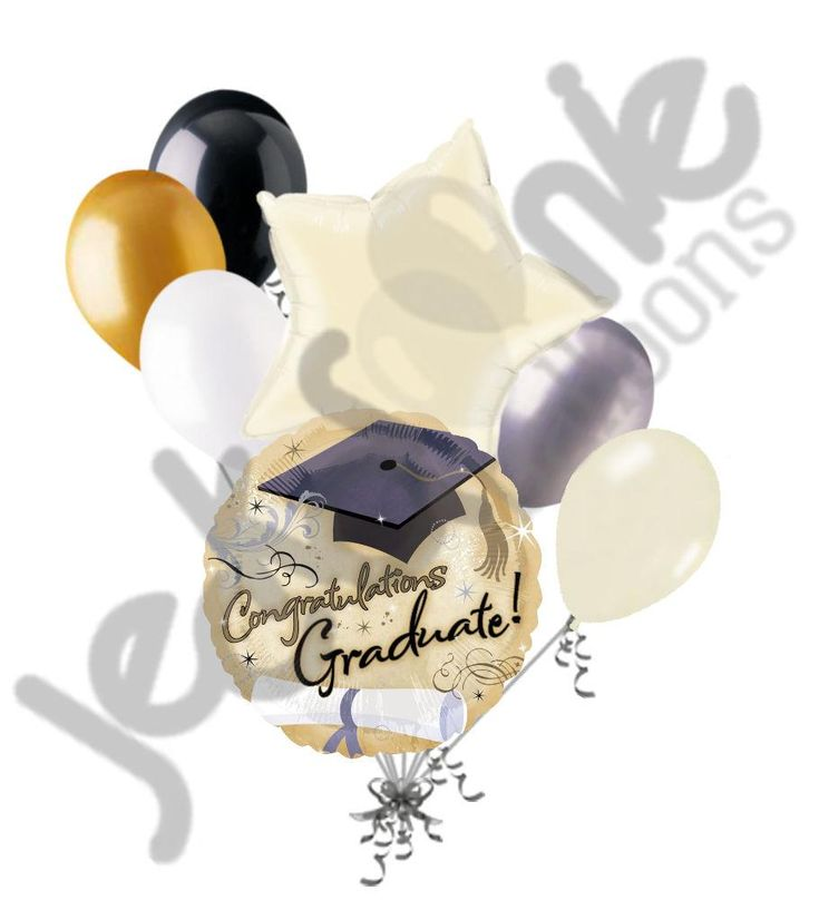 Fancy Sparkles Congratulations Graduate Balloon Bouquet