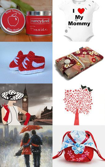 The Best Red gifts by matina nychas on Etsy--Pinned with TreasuryPin.com