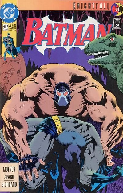 Batman Comic 497 Knightfall with Bane came out in July of 1993