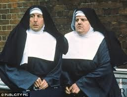 Nuns on the Run is a 1990 British comedy film starring Eric Idle and Robbie Coltrane, also featuring Camille Coduri and Janet Suzman. It was written and directed by Jonathan Lynn and produced by HandMade Films.