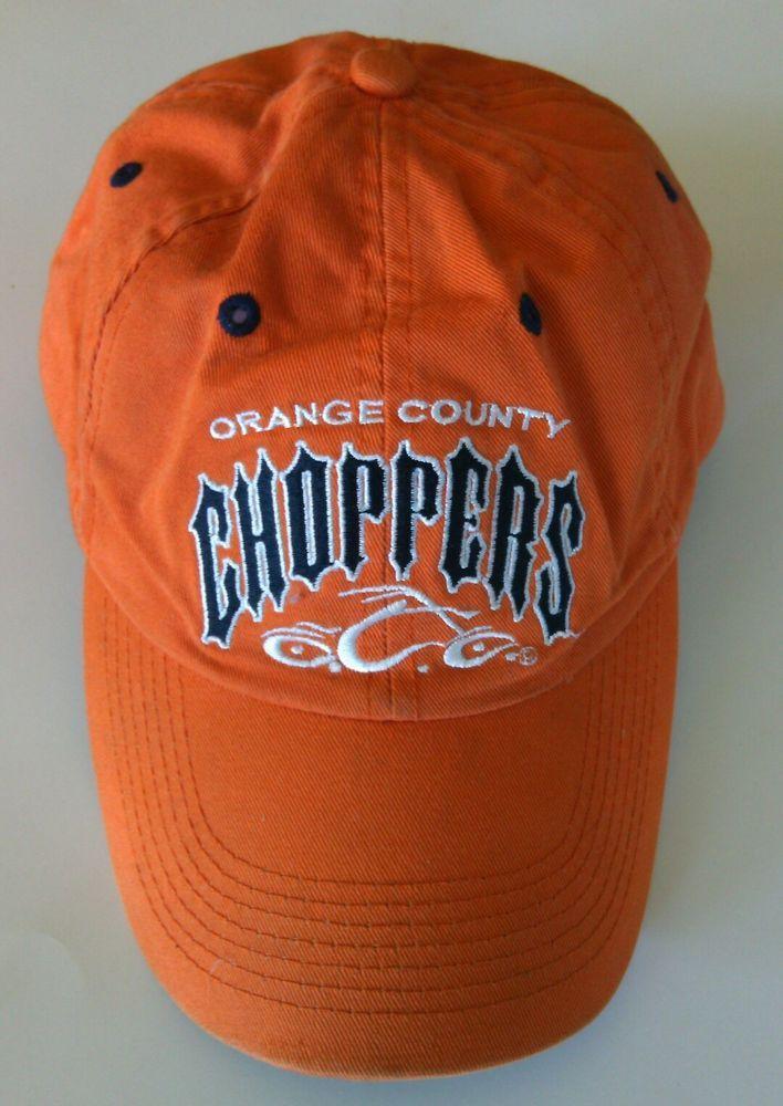 Orange County Choppers Baseball Cap Motorcycle Hat Size Adjustable Biker NY USA | eBay