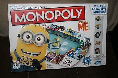 cool Minions Despicable Me Monopoly NEW Sealed Licensed Family Board Game - For Sale Check more at http://shipperscentral.com/wp/product/minions-despicable-me-monopoly-new-sealed-licensed-family-board-game-for-sale/