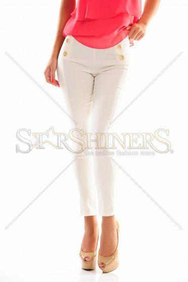 Eternal Wanderer White Trousers