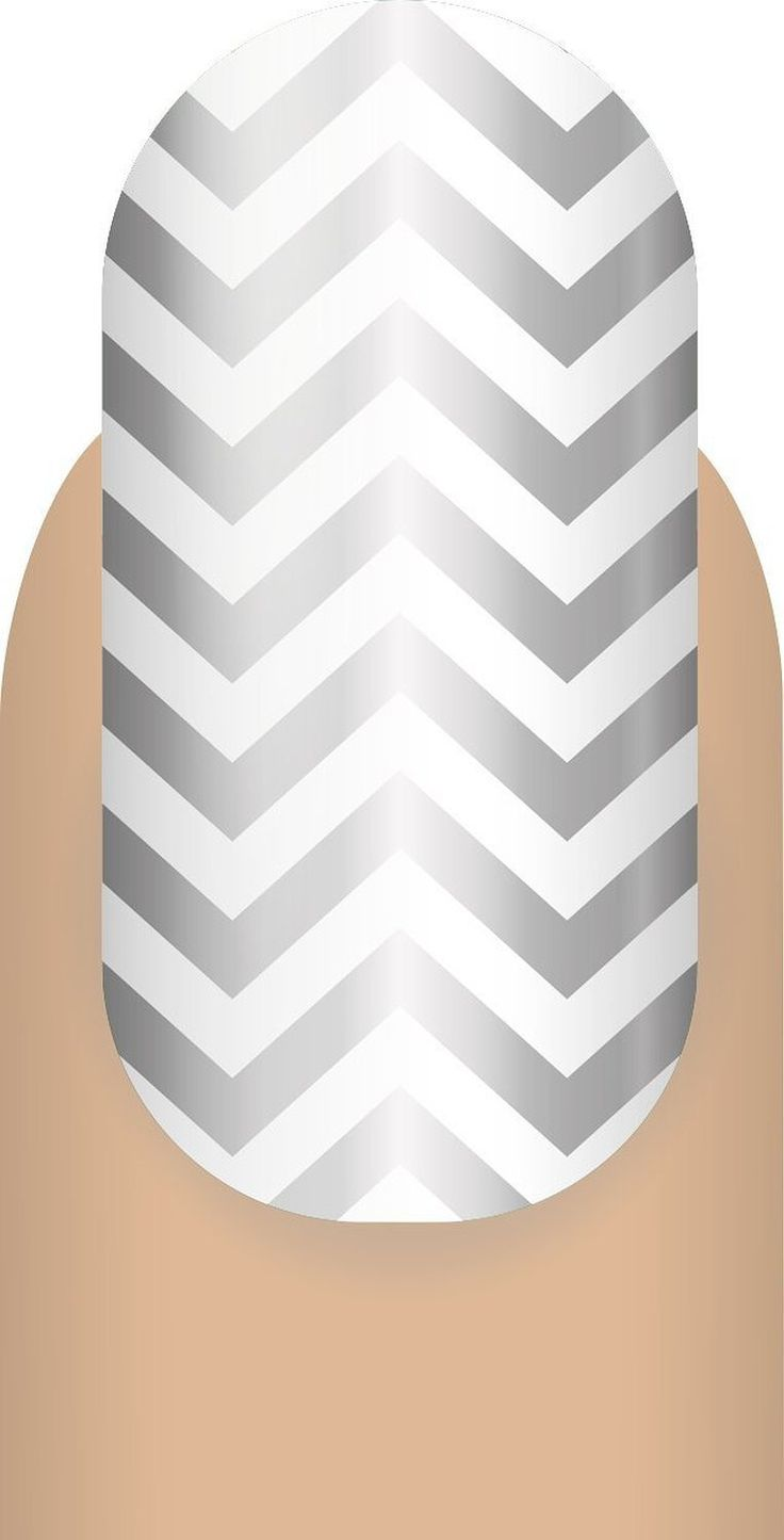 Generic Women's Salon Quality Nail Wraps Classic Chevron Metallic Silver. MANICURE MADE EASY - With Mani Wraps, everything you need is in the package. No special tools are required, so your manicure can be applied anytime anywhere - within minutes. Whether you're on a plane or on your lunch break, your salon-quality manicure is minutes away!. LASTS UP TO 2 WEEKS - Skip the cheap nail wraps stickers that only last days, if not hours. Mani Wraps are a true manicure quality nail wrap…