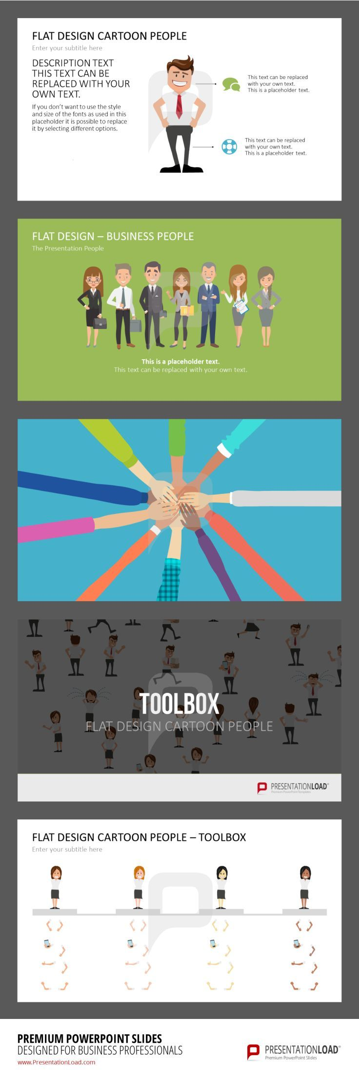 144 best flat design powerpoint templates images on pinterest you can customize suitable graphics for varied business contexts with our flat design people templates alramifo Image collections