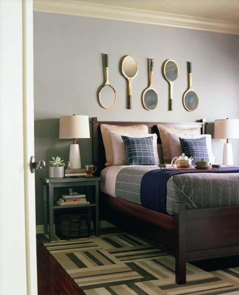 fun guest room idea