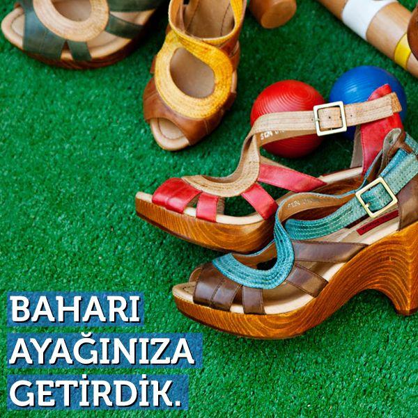 Baharı Ayağınıza Getirdik. - http://www.depodyum.com/denuvo-kadin-ayakkabi-modelleri - Bir Podyum Havası.