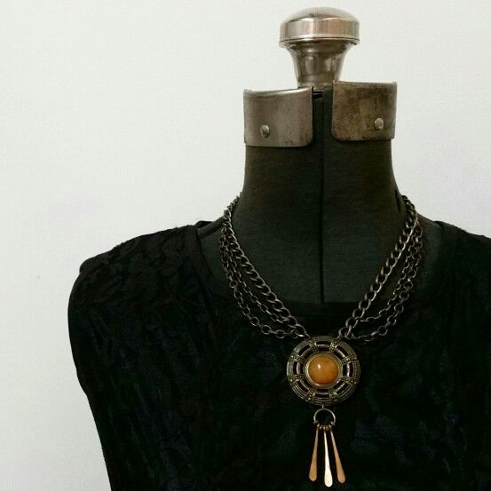 One of a kind collar from the ECOuture collection
