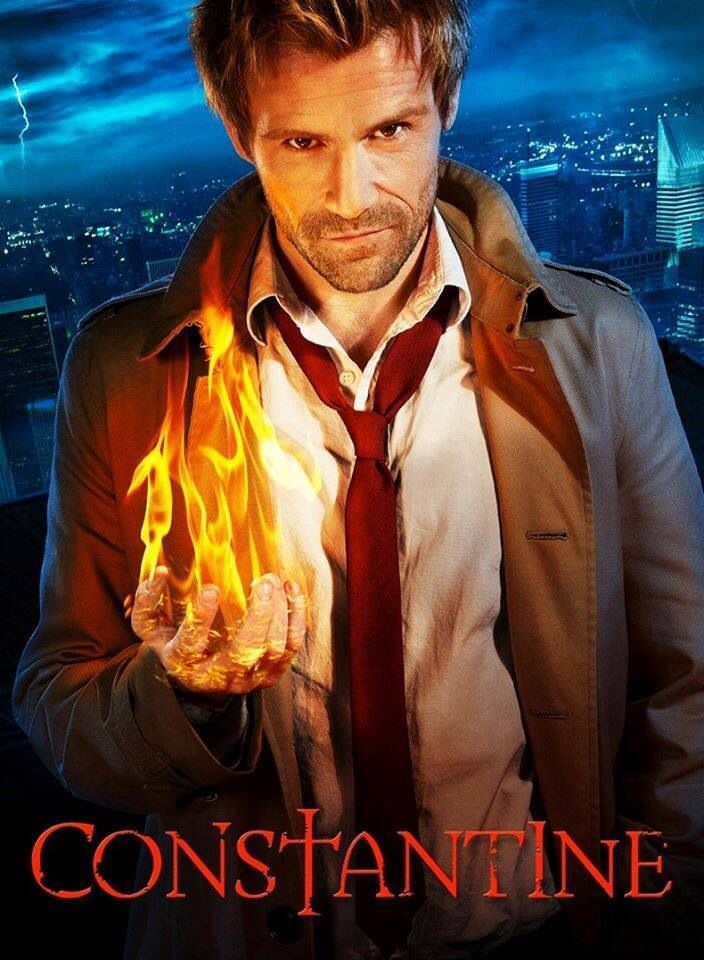 2014 - Constantine The series will focus on John Constantine, a dark exorcist, occult detective and con man who is struggling with his past sins as he tries to protect humanity from a gathering supernatural threat (2014).