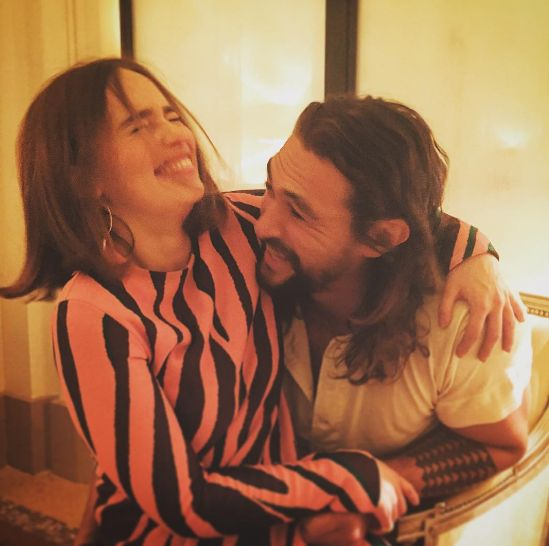 "The time Daenerys and Khal Drogo reunited and sent our hearts soaring. | Community Post: 32 Times The ""Game Of Thrones"" Cast Melted Our Damn Hearts"