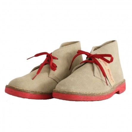 Chucca Suede Leather