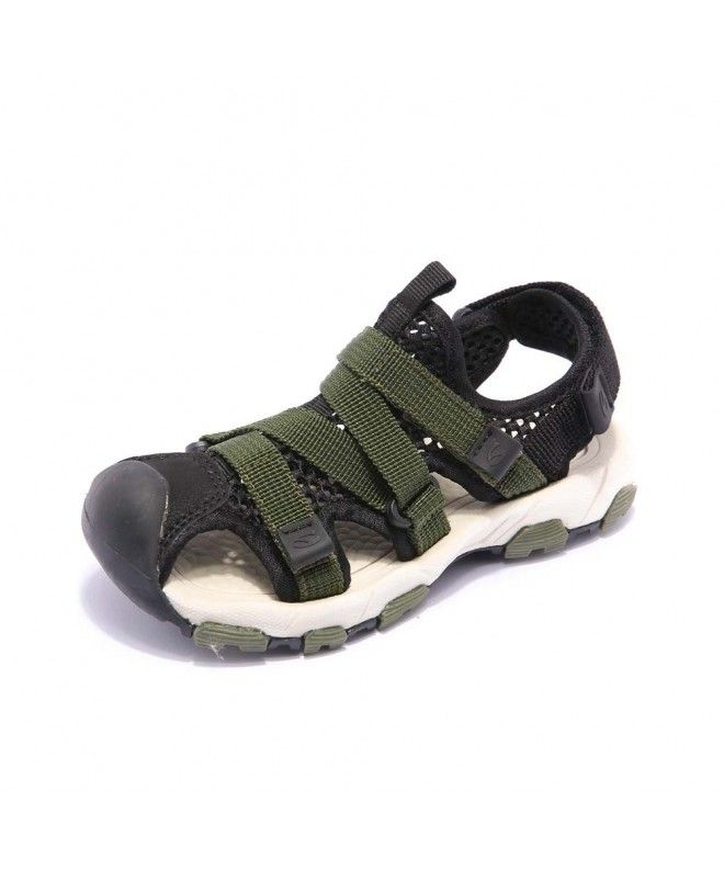Boys Sport Sandals Closed-Toe Water Beach Shoes Summer Breathable Athletic  (Toddler/Little Kid/Big Kid) - Green - CH18CGW25X5   Summer shoes, Beach  shoes, Sport sandals