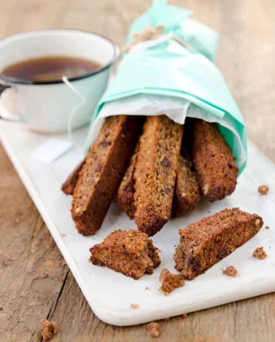 Edible Gifts! (Banana Bread Biscotti) - Manifest Vegan