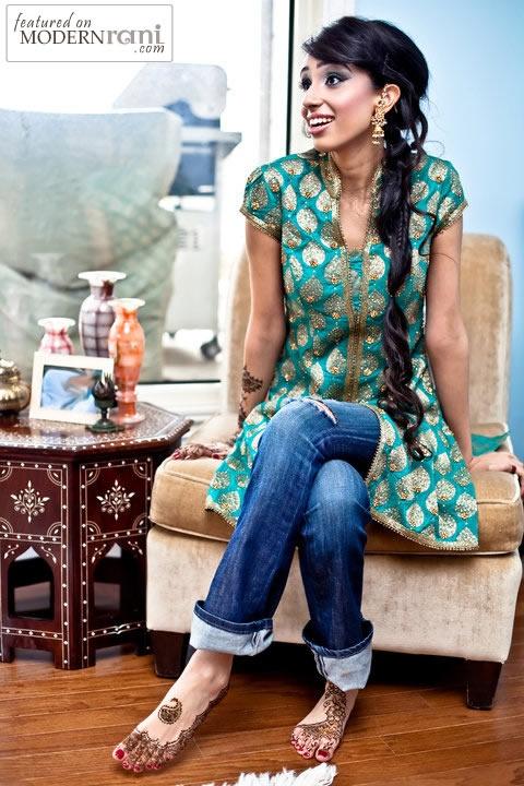 Bollywood Inspired Looks - more inspiration @ http://www.ModernRani.com