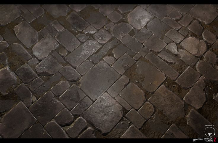 Stone_Floor_tile_02, Jonas Ronnegard on ArtStation at https://www.artstation.com/artwork/stone_floor_tile_02