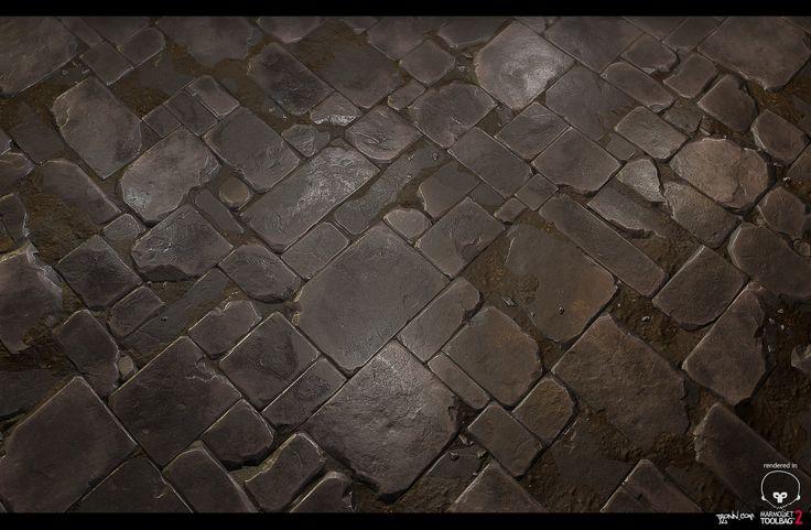 Stone_Floor_tile_02, Jonas Ronnegard on ArtStation at https://www.artstation.com/artwork/stone_floor_tile_02