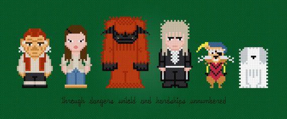 Labyrinth Movie Characters Digital PDF by AmazingCrossStitch