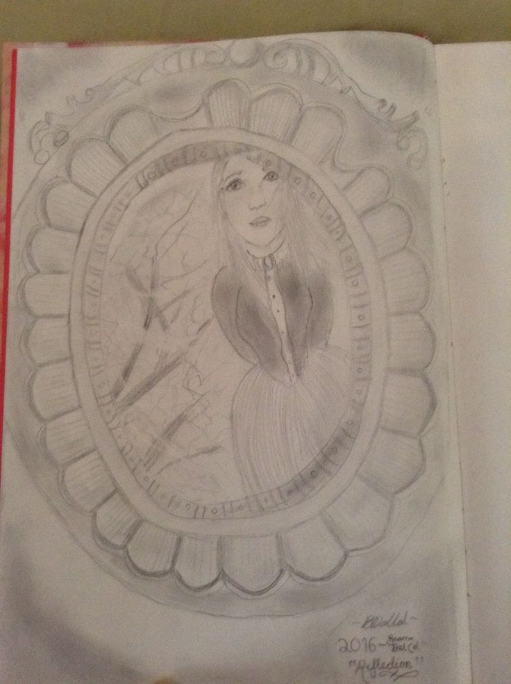 Reflection by @saybrizacanfly I love drawing things victorian cx