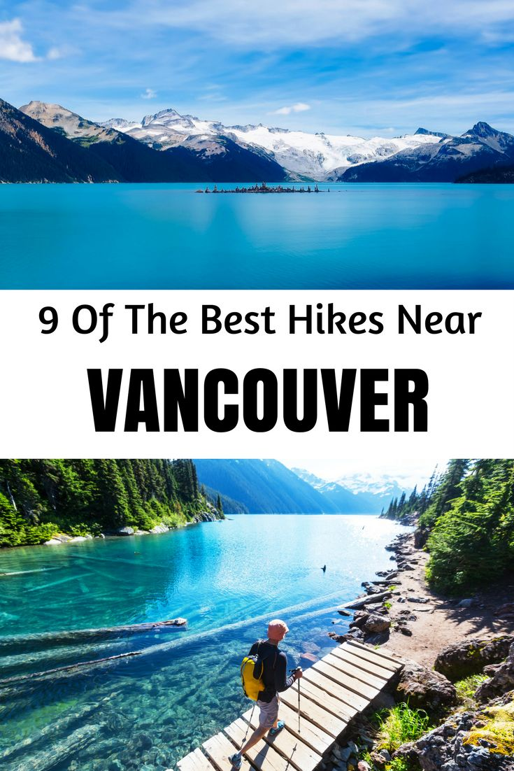 Vancouver hiking trails are some of the best. Here are 9 hikes that make for brilliant day trip activities in Vancouver