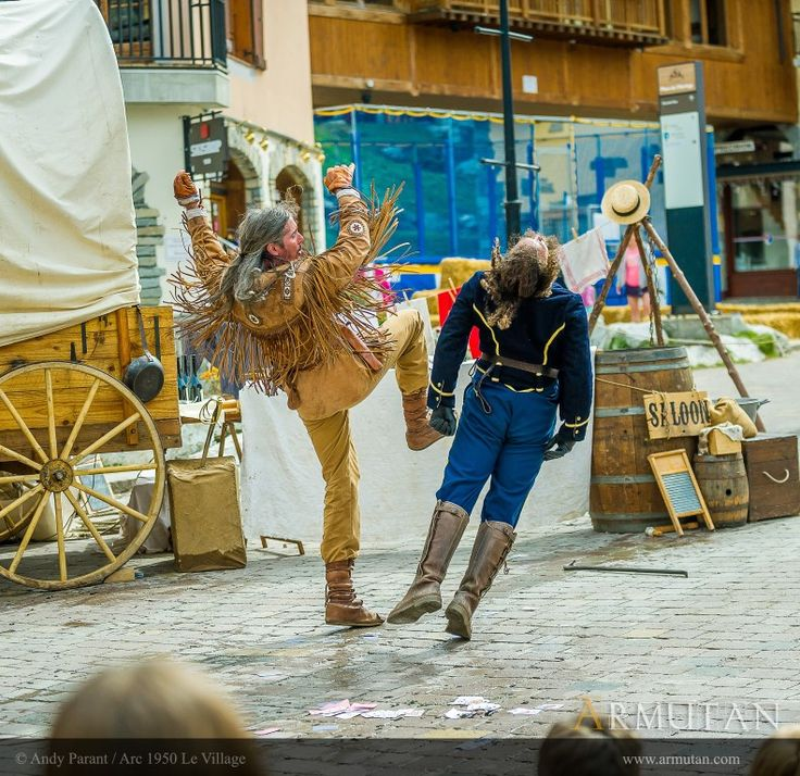 ©#armutan ©#andyparant #cowboys #farwest #yankee #trappeur #combat #coupdepoing #cascade #saloon