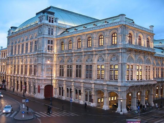 Vienna, Austria, 2007 - Vienna opera house (Staatsoper)