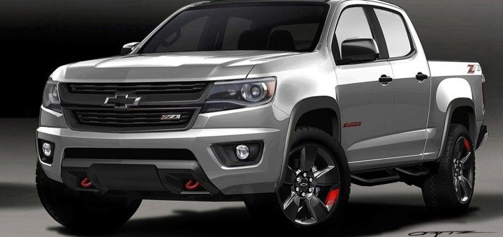 2016 Chevy Colorado Red Line Concept Reveal | GM Authority