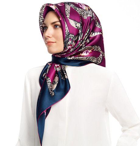 Armine Silk Hijab Scarf Spring Summer 2015 #6425 – Modefa USA