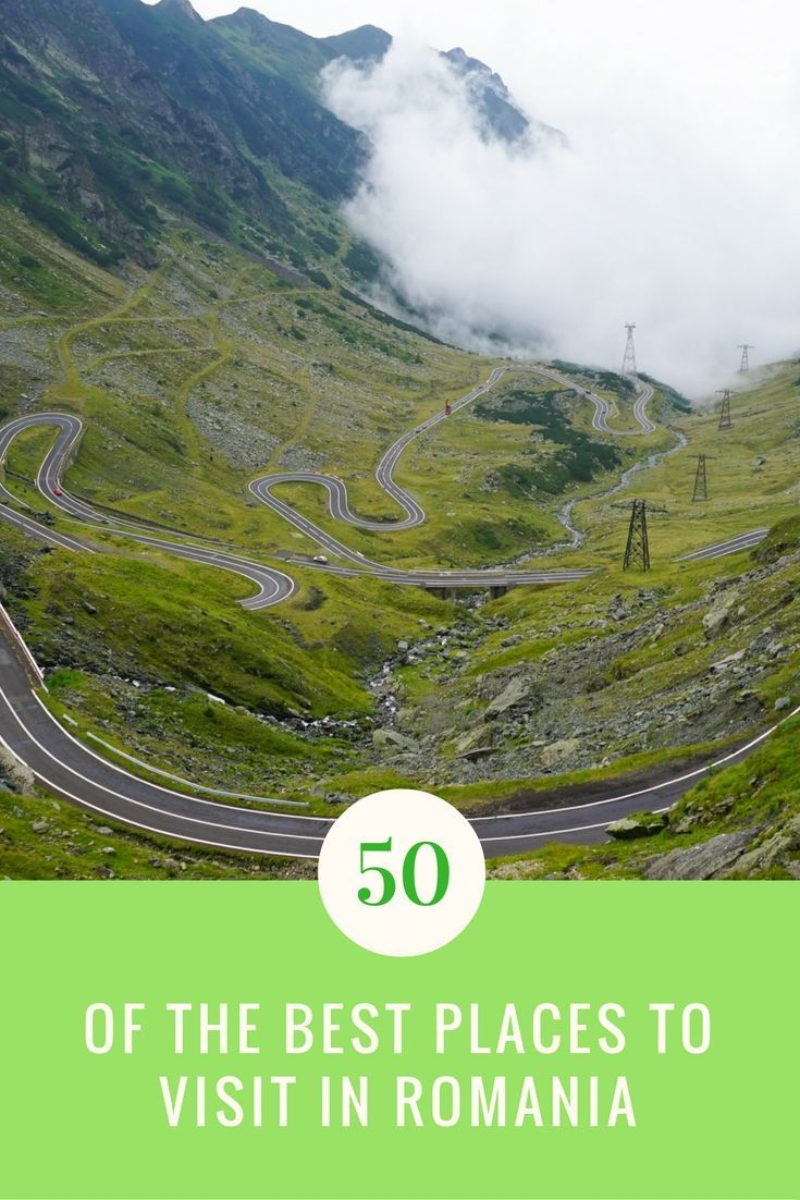 Heading to Romania and have no idea what there is to see? Don't worry! Here is a guide to the 50 of the Best Places to Visit in Romania!