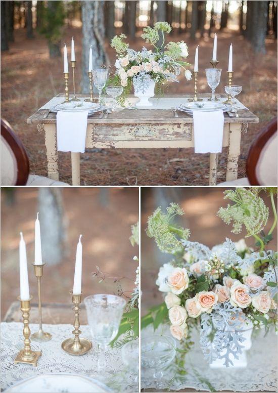 shabby chick vintage wedding ideas