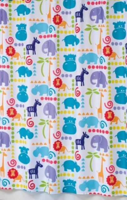 Hippo Shower Curtain 2595