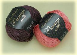 Premium silk Seam шелковая пряжа