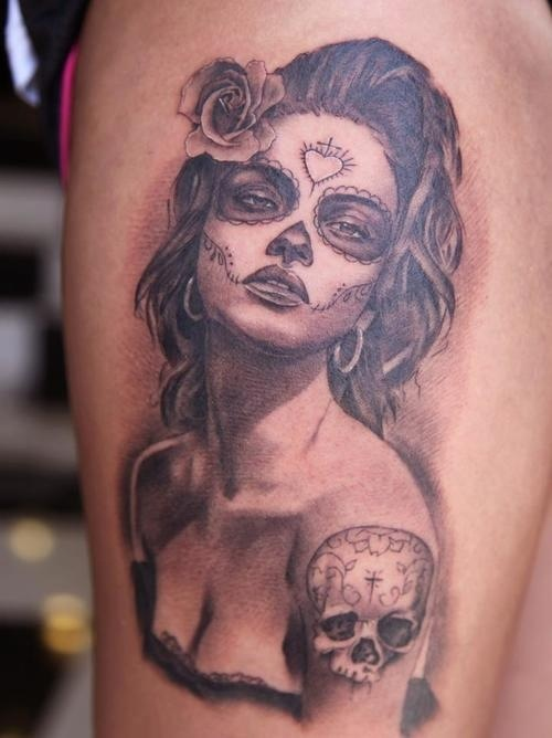 i am IN LOVE with sugar skulls and there meaning