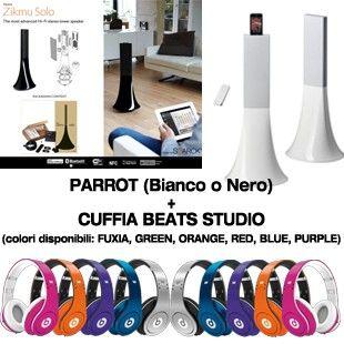 Zykmu Parrot + Beats Studio 2013!
