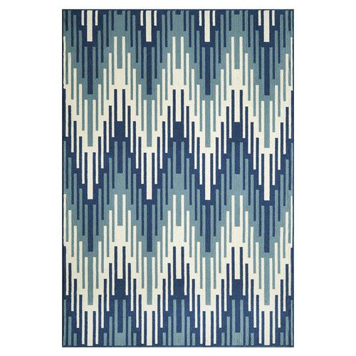 Found it at Wayfair - Wexler Hand-Woven Blue Area Rug