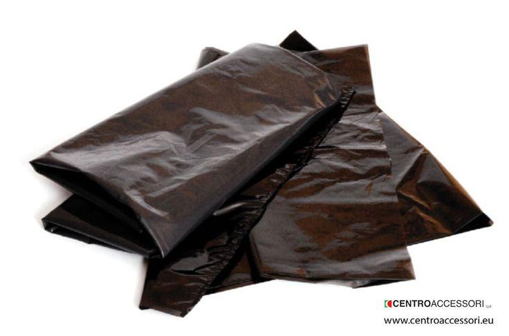 Sacchi neri pesanti per immondizia. Heavy garbage bags. #CentroAccessori