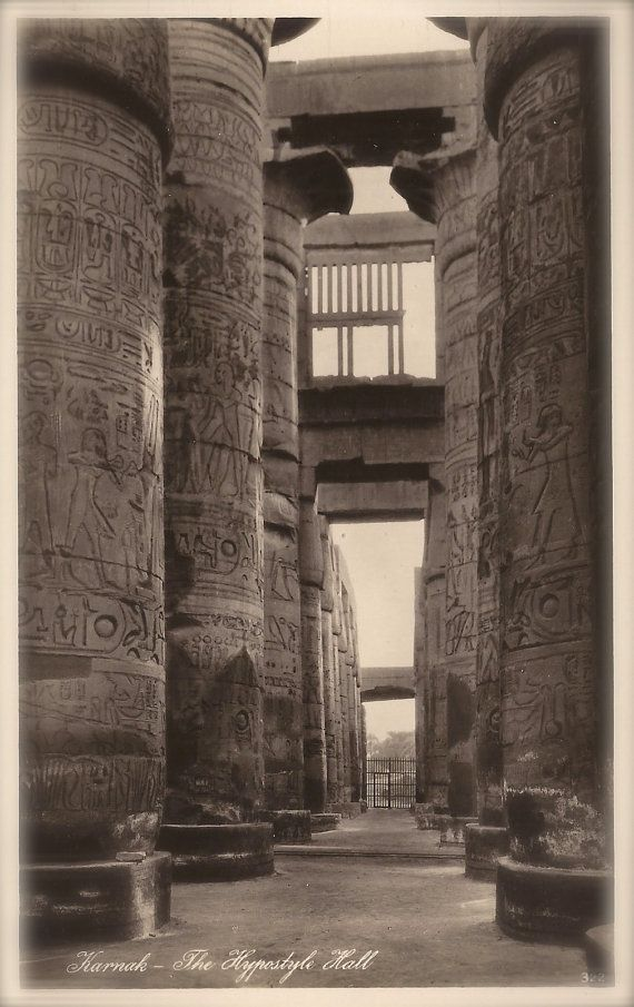 Ancient Egyptian Architecture The Great by TheVintageProphecy
