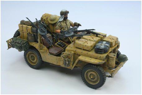 SAS Jeeps   Romsey Modellers