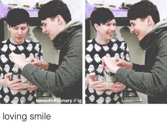 oh my god dan and phil's smiles in the 2nd picture though <3