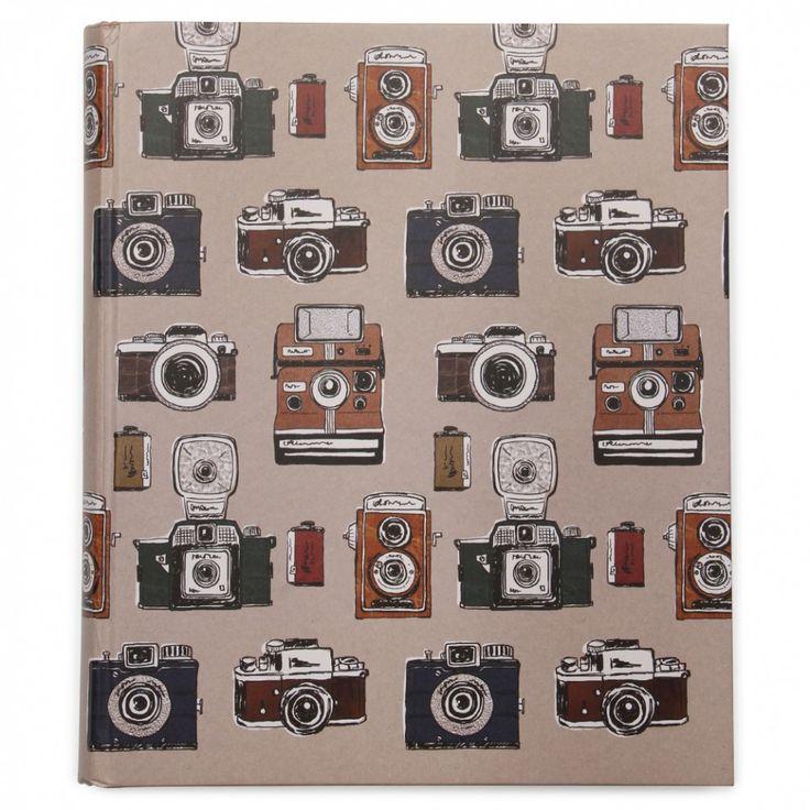 Album photo autoadhésif Cameras rétros large - Albums Photos - Cadeaux et maison