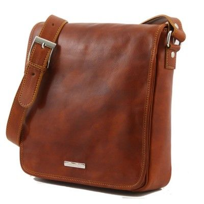 Leather Men's Bags Messenger