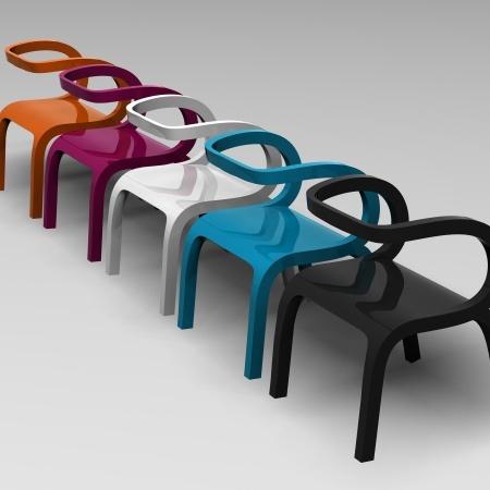 Selfish Chair by Dima Loginoff