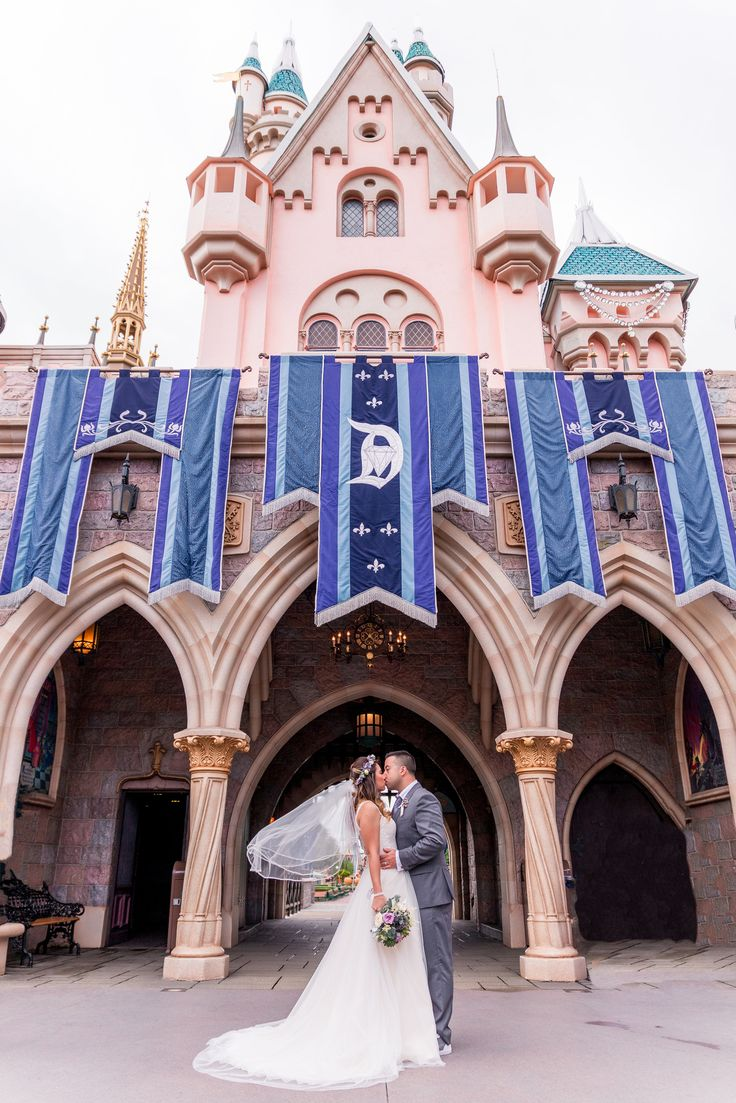 Dream Disneyland wedding