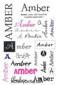 80 best my name is amber images on pinterest amber ivy and monograms amber name stickers fandeluxe Images