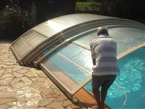 abri piscine bas telescopique POOLABRI : un abri de piscine pratique et ...