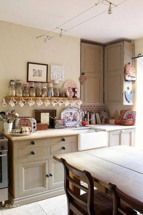 Modern Country Style Anne Turner S Cottage Living Kitchen: Cosy Kitchen, Kitchen